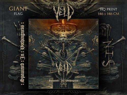 VELD - S.I.N. Flag 2 Флаг Death Metal
