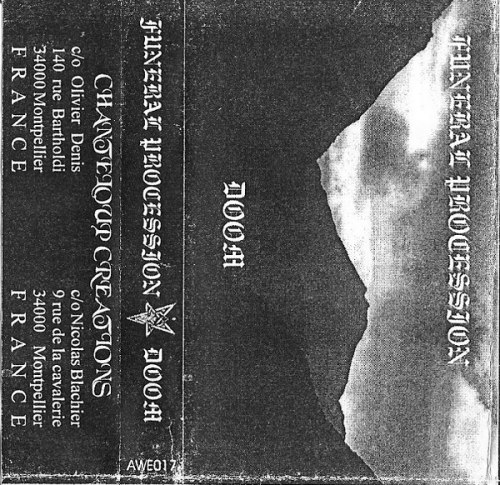 FUNERAL PROCESSION - Doom Tape Blackened Metal