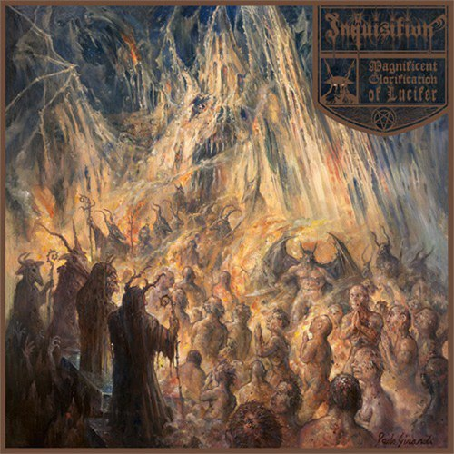 INQUISITION - Magnificent Glorification of Lucifer Digi-CD Black Metal