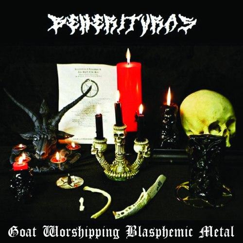 BEHERITVRAS - Goat Worshipping Blasphemic Metal CDr Black Metal