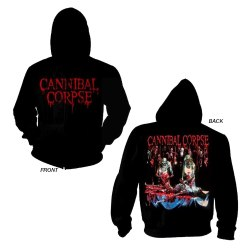 CANNIBAL CORPSE - Butchered at Birth - L Hoody Zipper Brutal Death Metal
