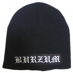 BURZUM - Logo шапка Black Metal