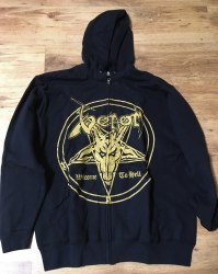 VENOM - Welcome to Hell - L Hoody Zipper Metal