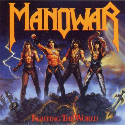 MANOWAR - Fighthing The World CD Heavy Metal