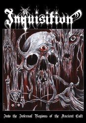 INQUISITION - Into The Infernal Regions Of The Ancient Cult A5 Digi-CD Black Metal