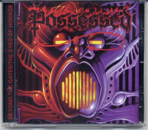POSSESSED - Beyond The Gates / The Eyes Of Horror CD Death Metal