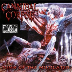CANNIBAL CORPSE - Tomb of the Mutilated CD Brutal Death Metal