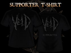 VELD - Supporter - XXL Майка Death Metal