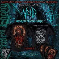 VELD - World in Obscure - M Майка Death Metal