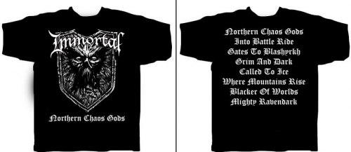 IMMORTAL - Northern Chaos Gods - L Майка Nordic Metal
