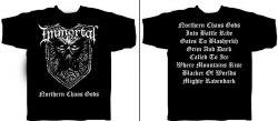 IMMORTAL - Northern Chaos Gods - XL Майка Nordic Metal
