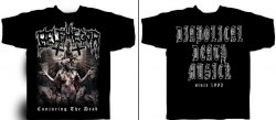 BELPHEGOR - Conjuring The Dead - XL Майка Blackened Death Metal