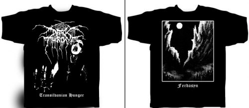 DARKTHRONE - Transilvanian Hunger - XL Майка Black Metal