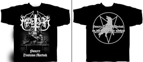 MARDUK - Panzer Divison Marduk - XL Майка Black Metal