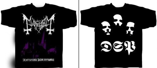 MAYHEM - De Mysteriis Dom Sathanas - XL Майка Black Metal