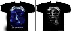 METALLICA - Ride the Lightning - XL Майка Thrash Metal