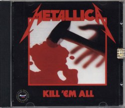 METALLICA - Kill 'Em All CD Thrash Metal