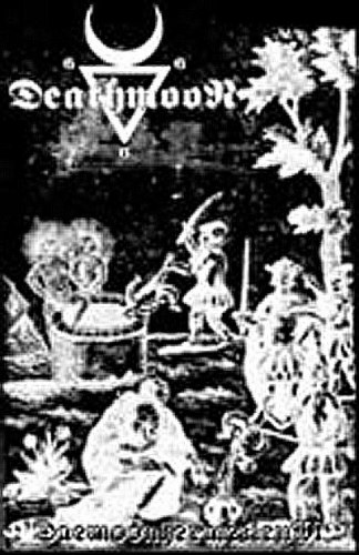 DEATHMOON - Daemoonhermeticum Tape Black Metal