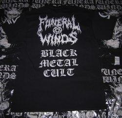 FUNERAL WINDS - B.M.C. - L Майка Black Metal