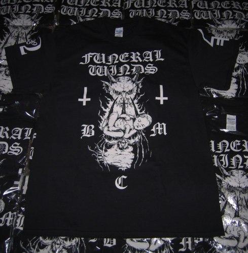 FUNERAL WINDS - B.M.C. - XL Майка Black Metal