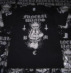 FUNERAL WINDS - B.M.C. - XL Майка Black Metal