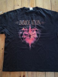 IMMOLATION - Shadows over Europe Tour 2007 - L Майка Death Metal