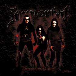 IMMORTAL - Damned in Black CD Nordic Metal