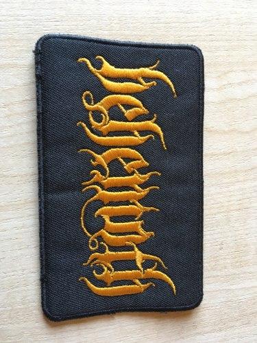 BEHEMOTH - Logo Нашивка Blackened Metal