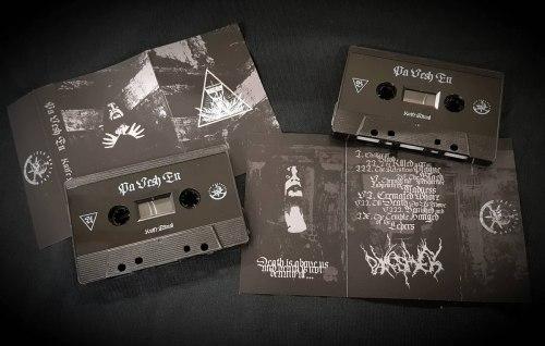 PA VESH EN - Knife Ritual Tape Black Metal