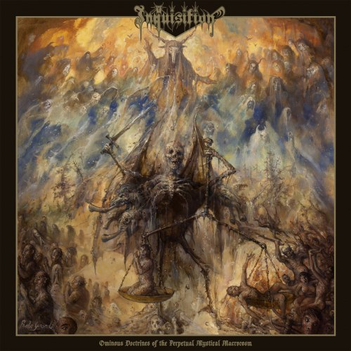 INQUISITION - Ominous Doctrines Of The Perpetual Mystical Macrocosm Gatefold DLP Black Metal