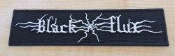 BLACK FLUX - Logo Нашивка Blackened Metal