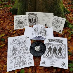 TETRAGRAMMACIDE - Primal Incinerators Of Moral Matrix Gatefold LP Black Metal
