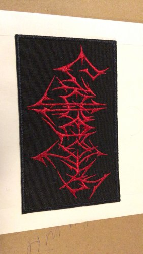 GIGGEROTAH - Logo Нашивка Death Thrash Metal