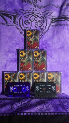 PESTILENTIA - Where the Light Dies Tape Black Metal