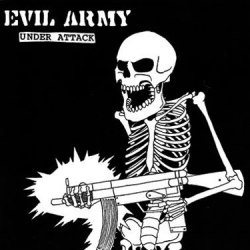 "EVIL ARMY - Under Attack 7""EP Thrash Metal"
