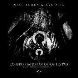 MORITURUS & XYNOBIS - Confrontation Of Opposites 1995 (Dark Forbidden Experiments) Digi-CD Dark Ambient Metal