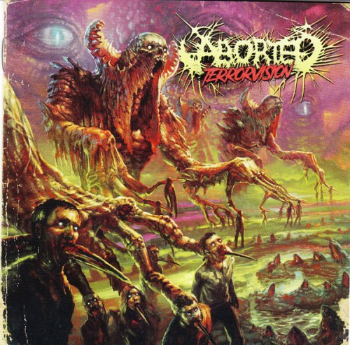 ABORTED - Terrorvision CD Brutal Death Metal