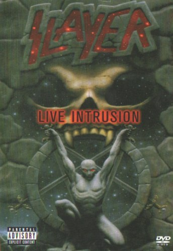 SLAYER - Live Intrusion DVD Thrash Metal