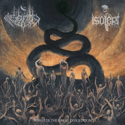INSANITY CULT / ISOLERT - Towards The Great Dissolution CD Black Metal