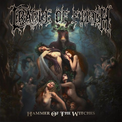 CRADLE OF FILTH - Hammer of The Witches CD Dark Metal