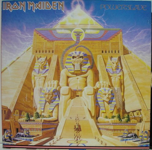 IRON MAIDEN - Powerslave LP Heavy Metal