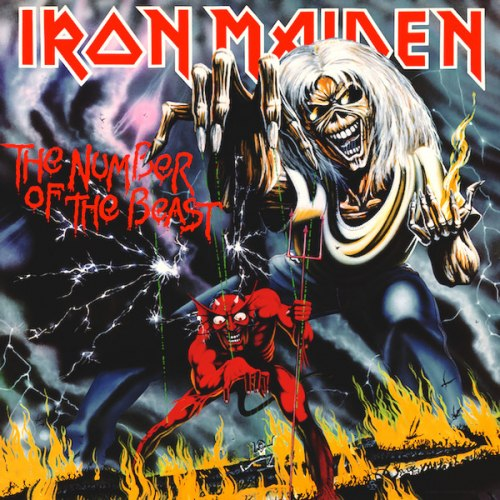IRON MAIDEN - The Number Of The Beast LP Heavy Metal
