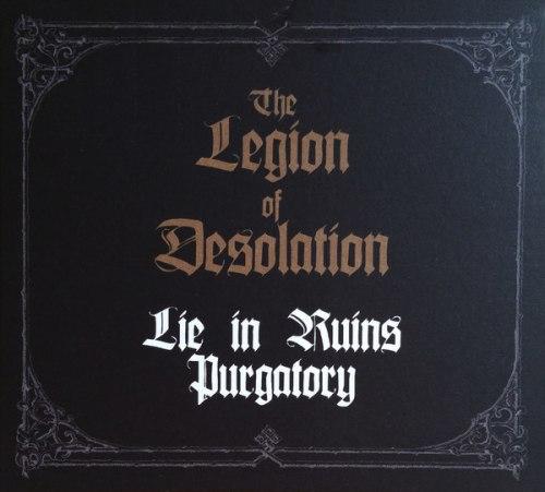 PURGATORY / LIE IN RUINS - The Legion Of Desolation Digi-CD Death Metal