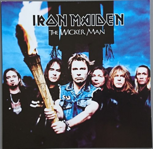 IRON MAIDEN - The Wicker Man MCD Heavy Metal