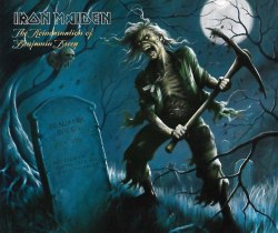 IRON MAIDEN - The Reincarnation Of Benjamin Breeg MCD Heavy Metal