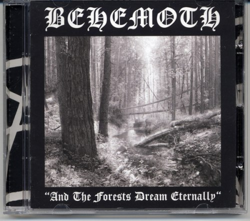 BEHEMOTH - And The Forests Dream Eternally MCD Black Metal