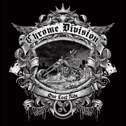CHROME DIVISION - One Last Ride CD Rock'n'Roll