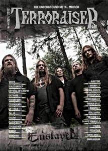 TERRORAISER #4 (52) 2012 Журнал Metal
