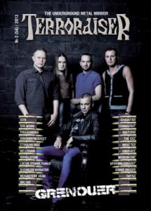 TERRORAISER #2 (54) 2013 Журнал Metal