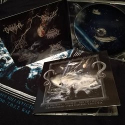 VIA DOLOROSA / VON HEXE / DEO SOLI INVICTO / SEMEN HOLOKHAOZ / T.O.S.T. WAR - Nuclear War At The Times Of The Gods Digi-CD NS Metal